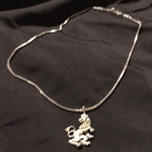 Jewelry - Silver colored pendant necklace
